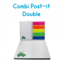 Combi Post-it Double Personnalisé