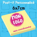 Post-it personnalisé 68x75mm