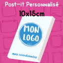 Post-it publicitaire100x150mm