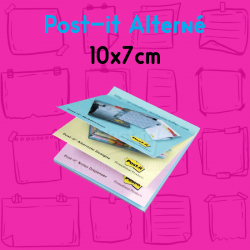 bloc-post-it-personnalise-visuel alterne-publicitaire-imprime-10x7cm