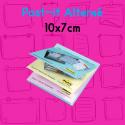 Post-it personnalisé visuel alterné 100x75mm