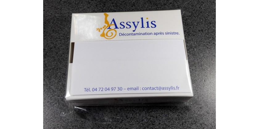 Box post it personnalisée Assilys