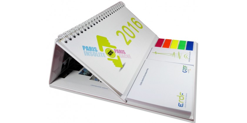 Le Calendrier Post-it XL à spirales